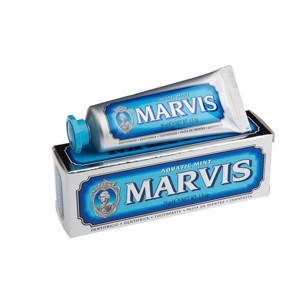 Marvis Tandpasta, Aquatic Mint  - 25 ml.